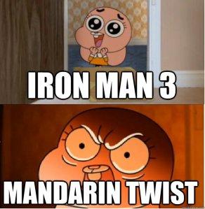 mandarin reaction