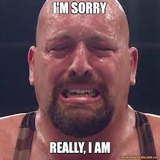 wrestler sorry