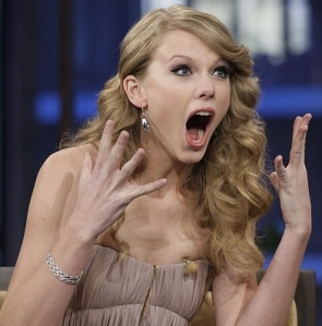 shocked taylor swift