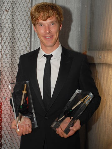 cumberbatch with awards