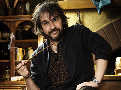 peter jackson with pipe