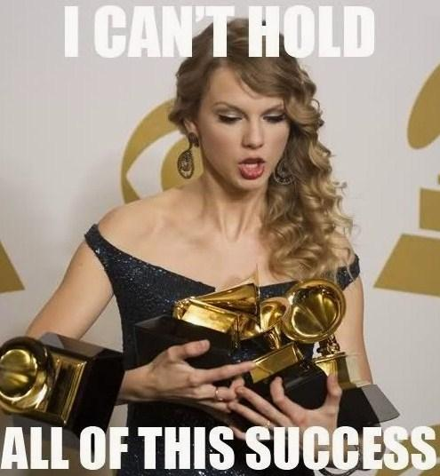tay- tay and her trophies